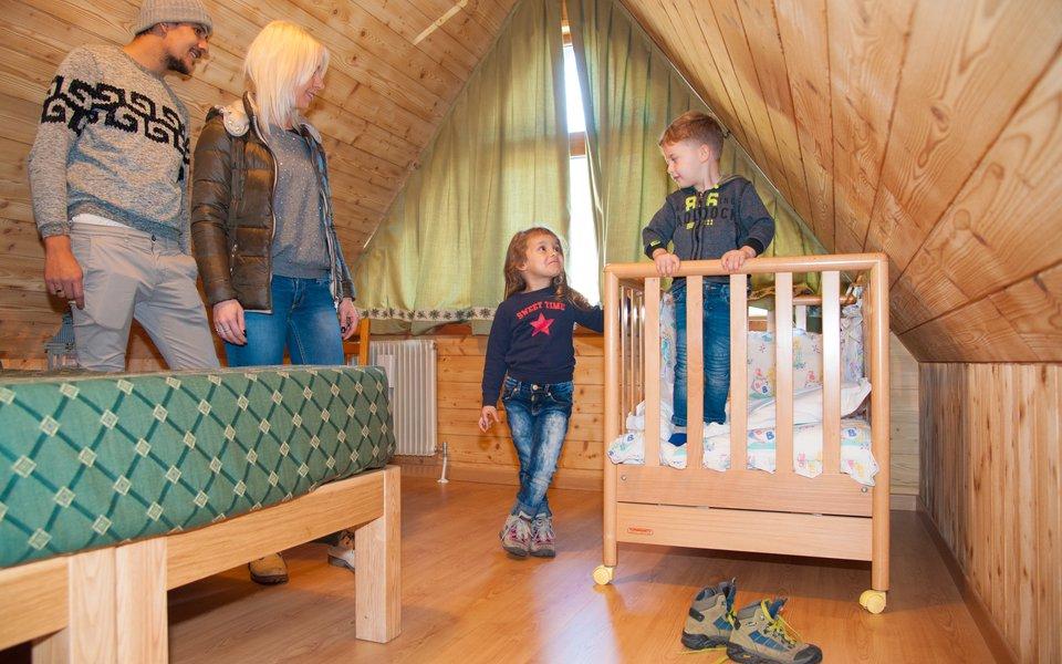 camera peter soggiorno per famiglie al verena w