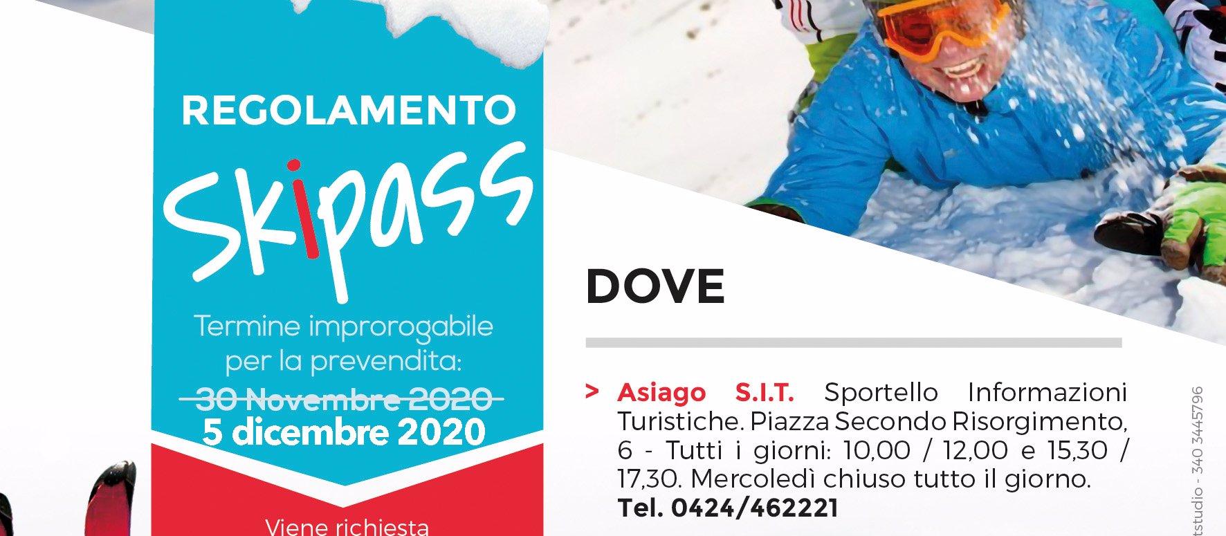 regolamento skipass altopiano di asiago 2020 ski a