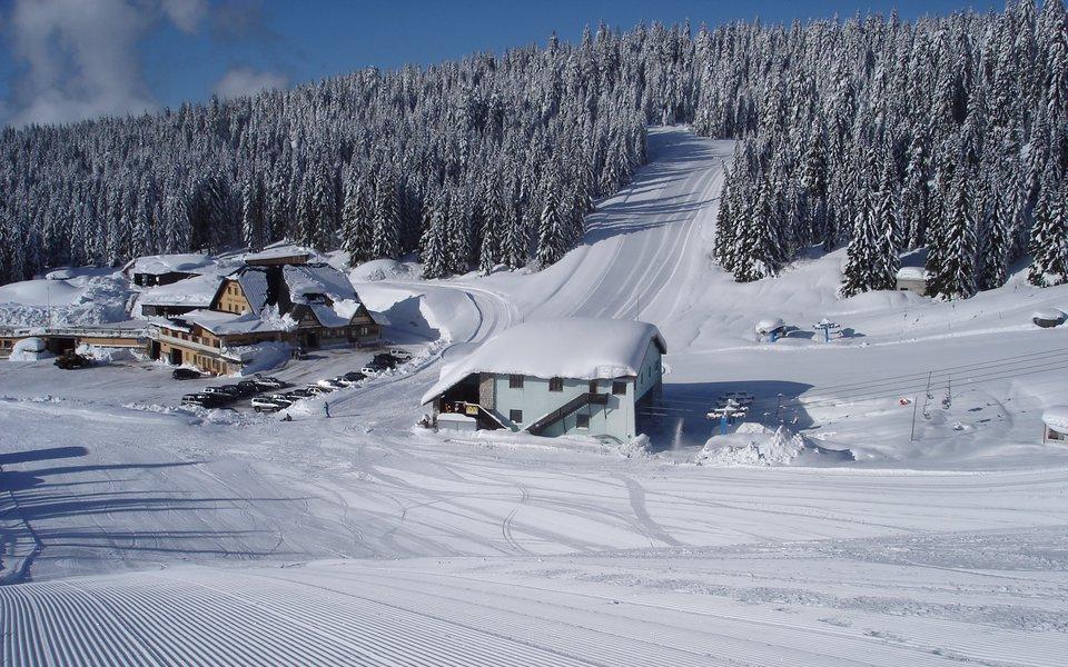 piste da sci ski area verena w