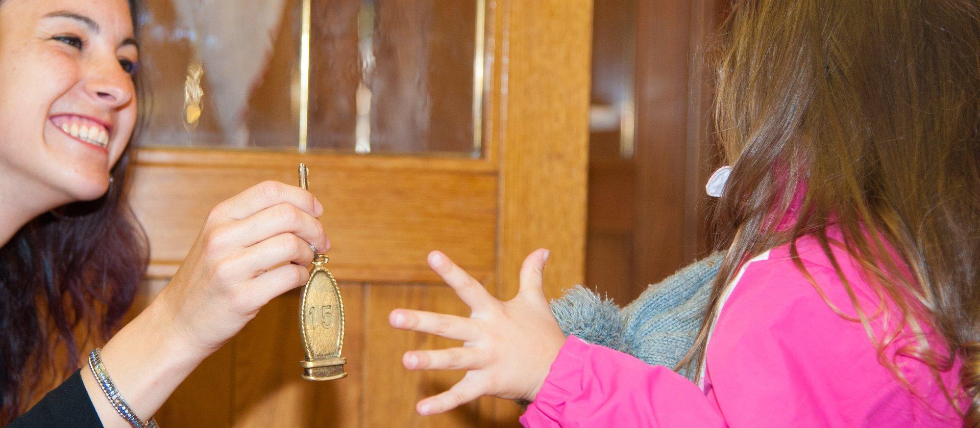 bambina chiave rifugio verenetta w