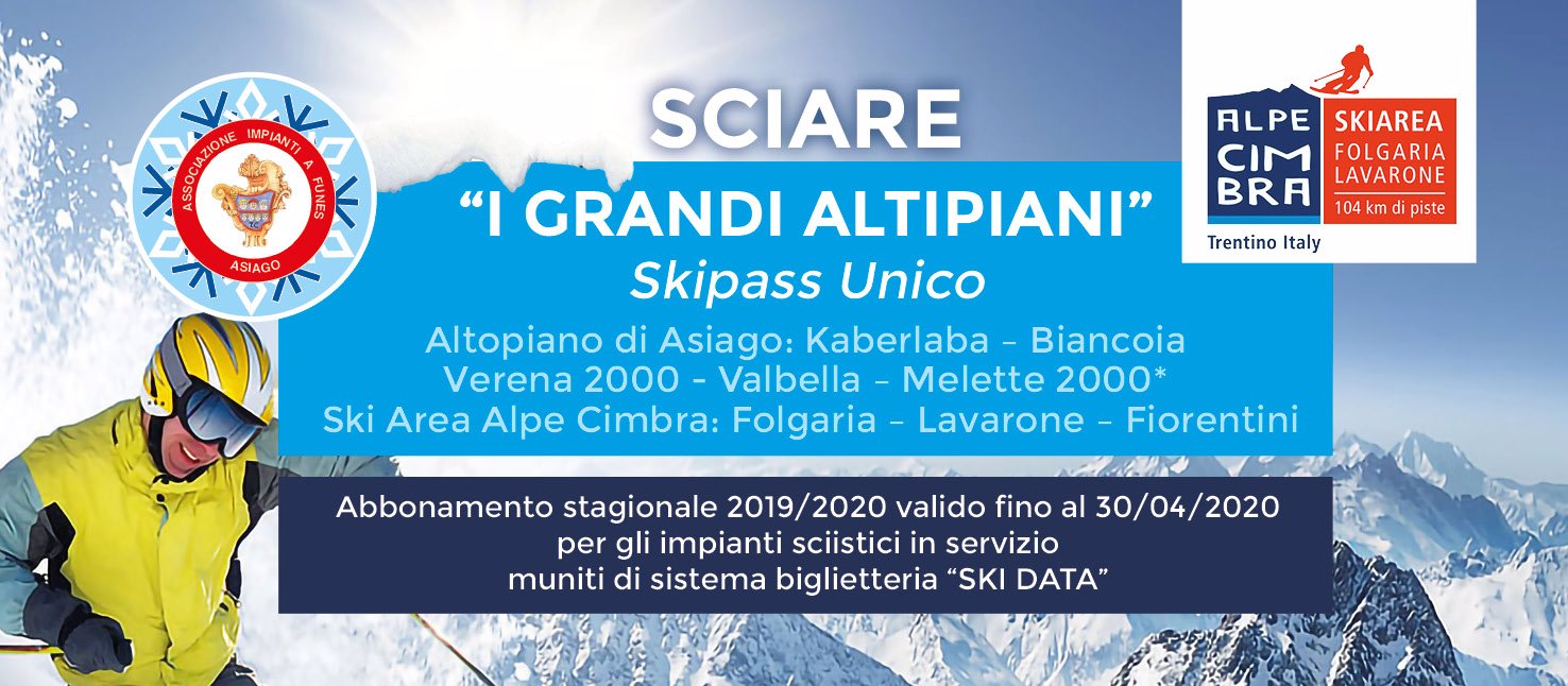 grandi altipiani skipass 20192020 w