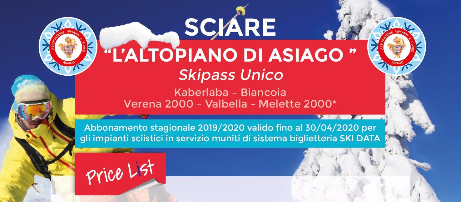 skipass altopiano 20192020 w