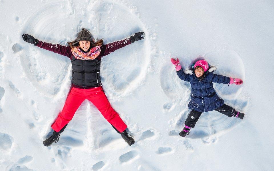 angelo di neve w